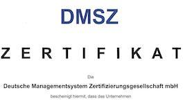 QS-Urkunde ISO 9001:2015